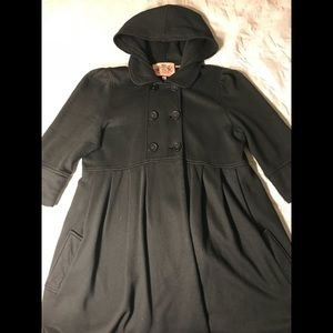 👘 Women's hooded and buttoned cotton coat
